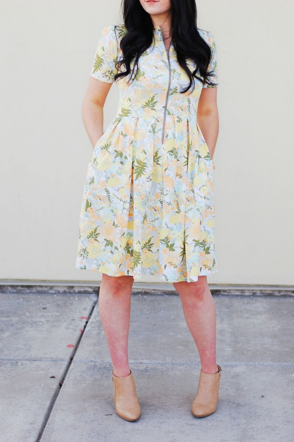 Nursing friendly Amelia dress