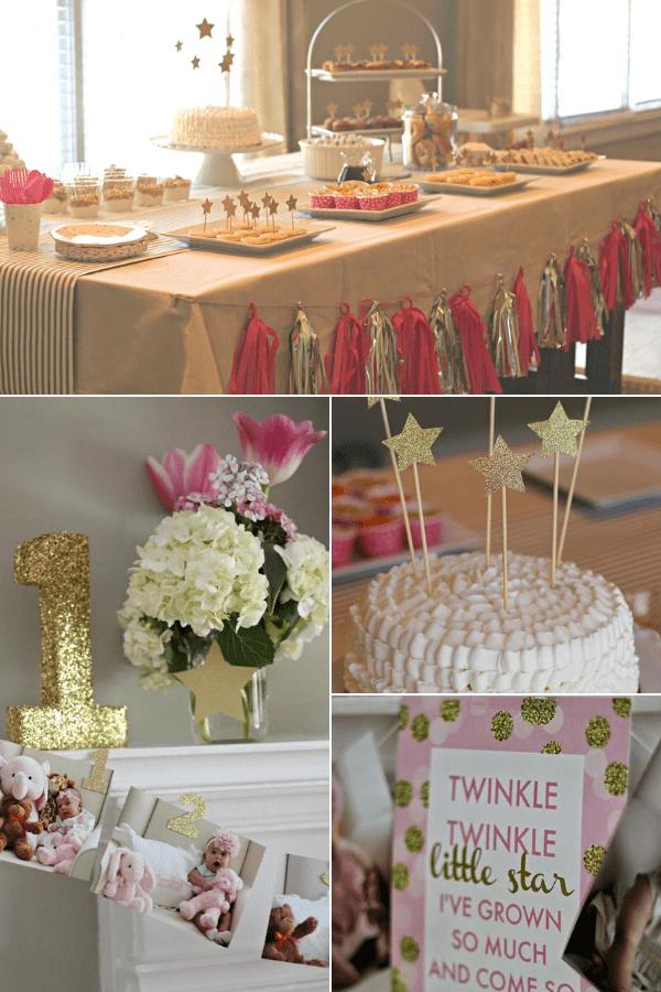 Twinkle twinkle little star birthday party.