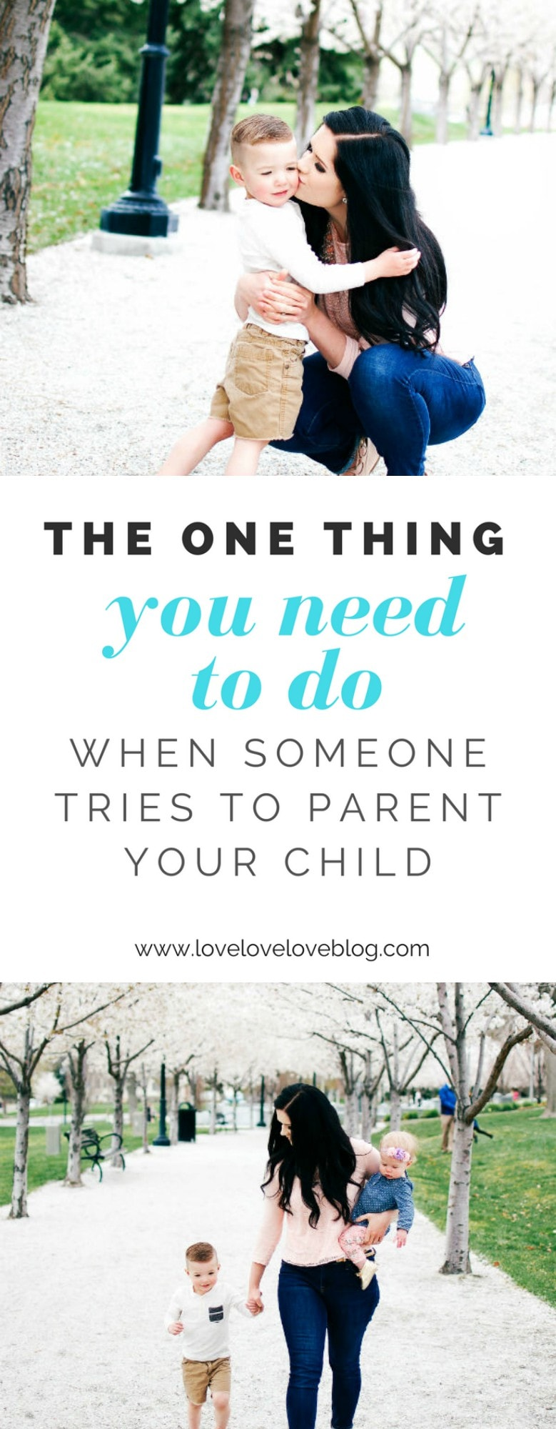 How to react to unwanted parenting advice