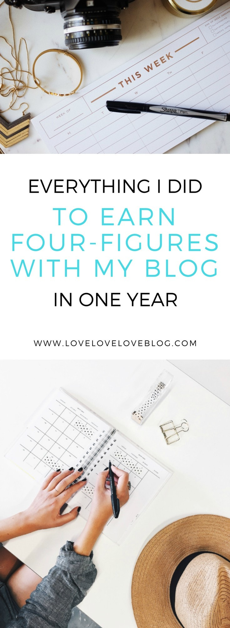Make money with blogging in one year