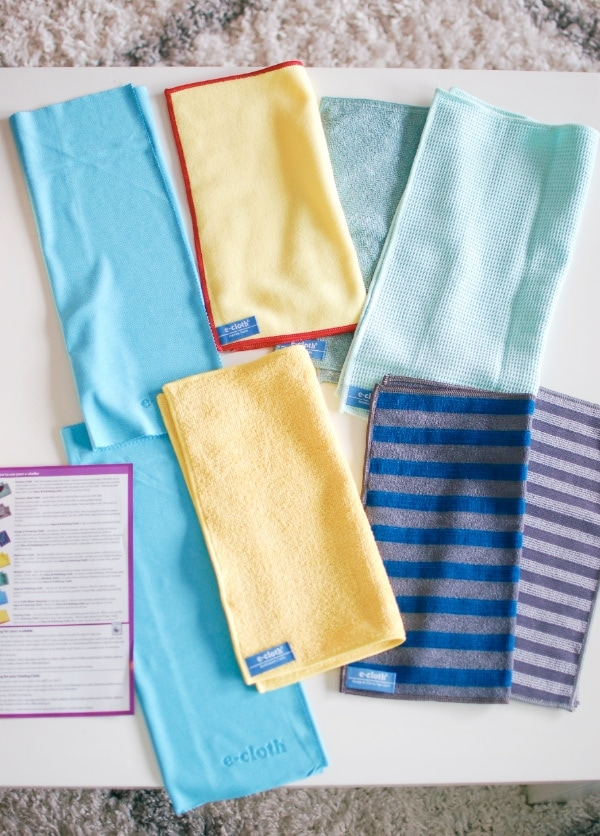 ecloth household cleaning cloths.