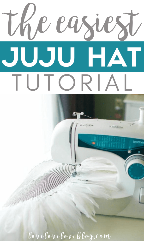 This Juju hat DIY is so easy and makes the perfect decor!