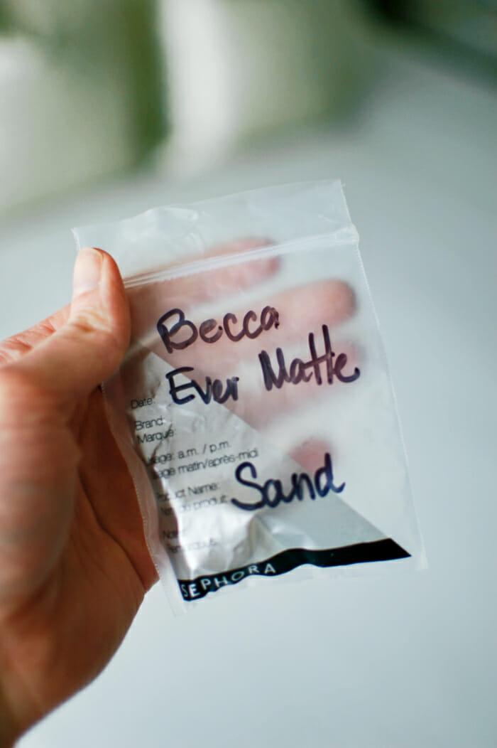 Becca Ever Matte foundation review