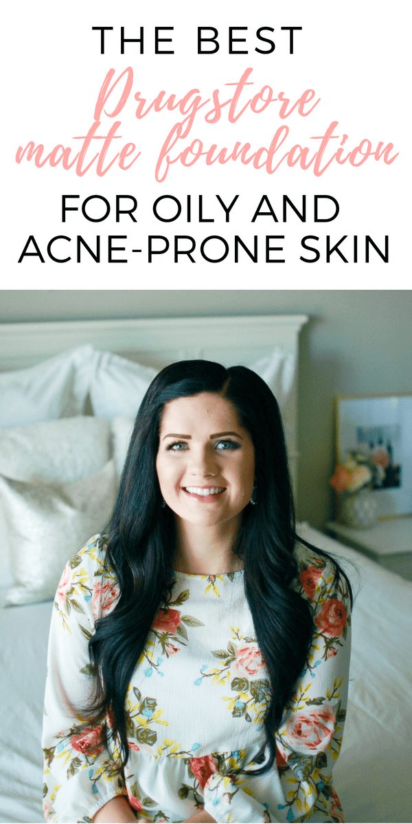 The best drugstore foundation for oily skin and acne