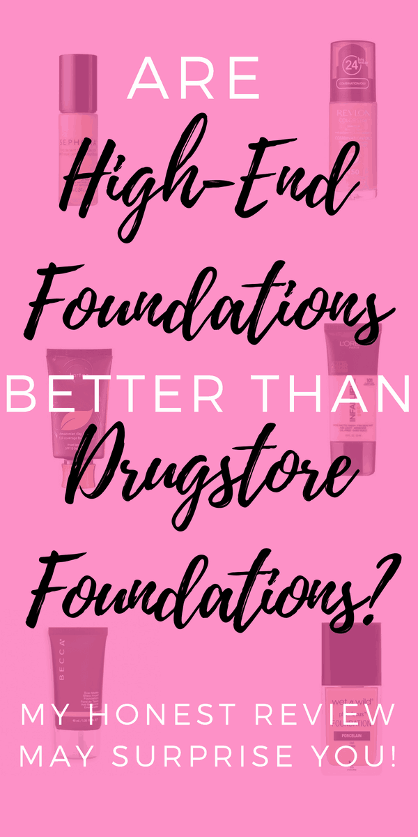 The best full coverage drugstore foundation reviews