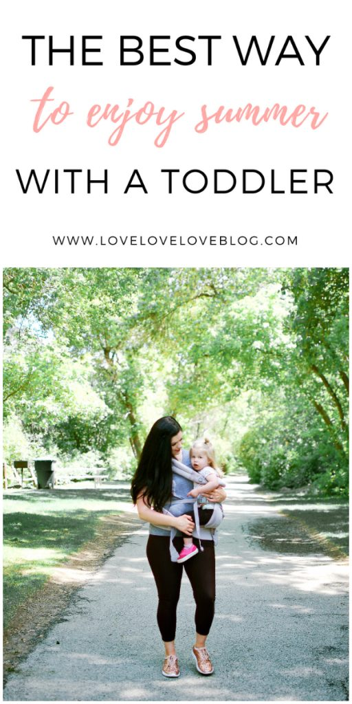 How to enjoy summer with a toddler