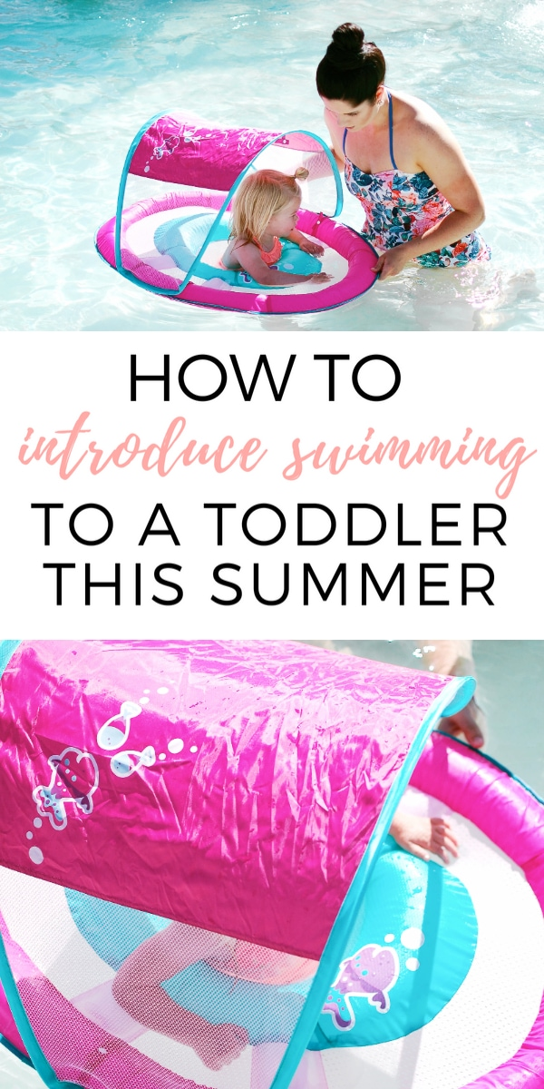 How to teach your child to swim