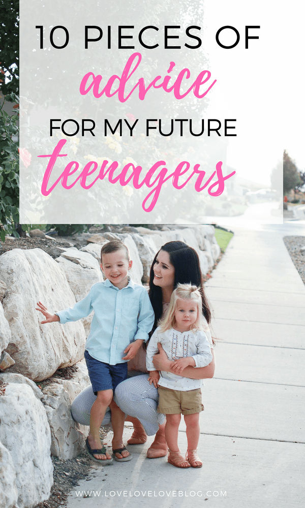 Jessica from Love Love Love shares tons of great advice for teenagers! Check out what your kids need to know!