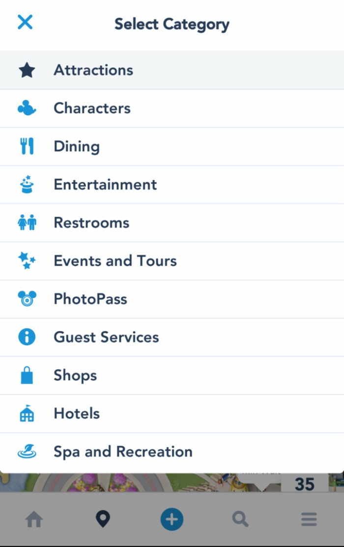 The Disneyland app is a must when you visit Disneyland!