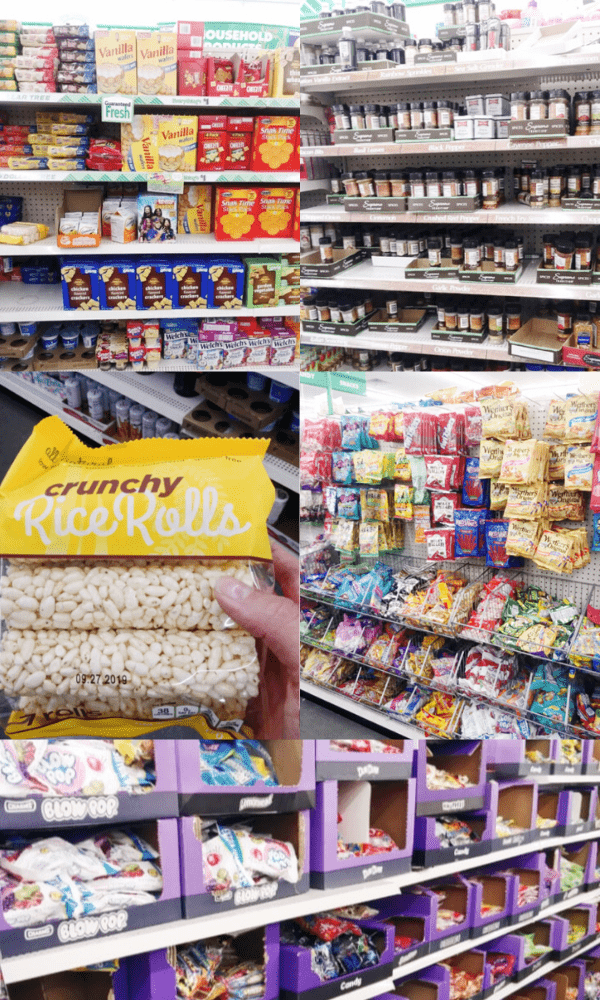 Dollar Store Candy & Food