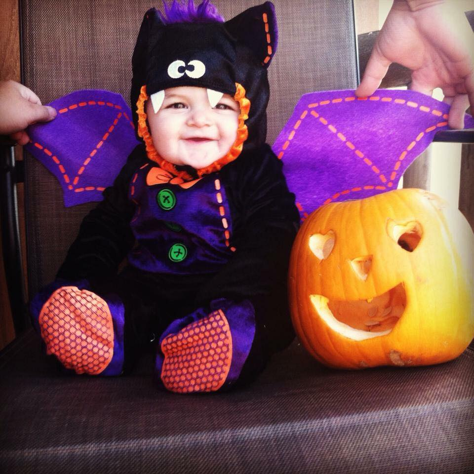This bat baby Halloween costume is simply amazing! Check out the post for 100+ ...  sc 1 st  Love Love Love Blog & 100+ Super Creative DIY Family Halloween Costumes To Try This Year ...