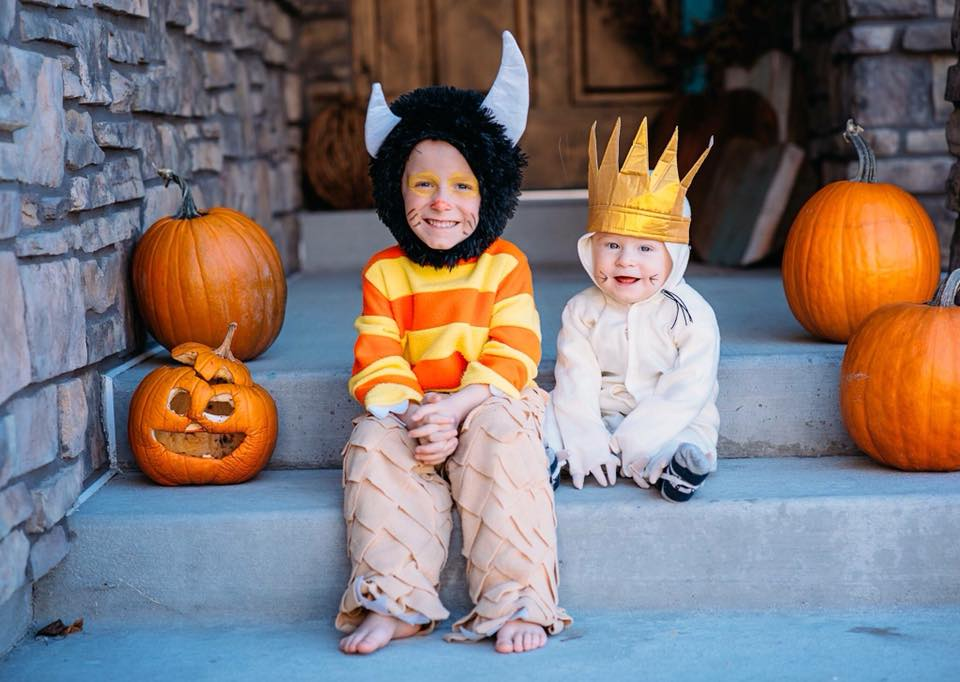 Where the Wild Things Are kids Halloween costumes