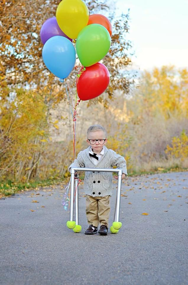 Carl from Up kids Halloween costume