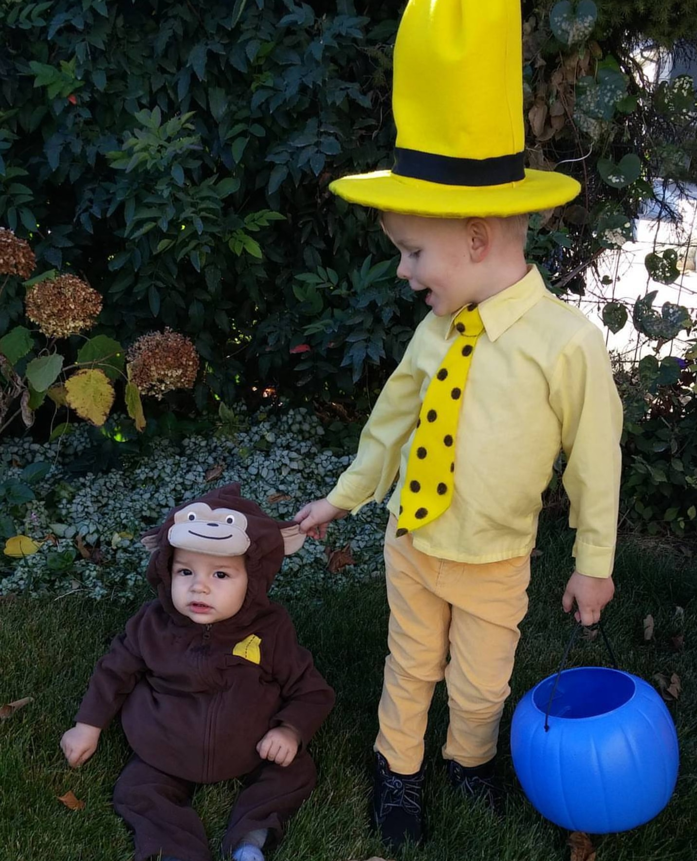 Curious George kids Halloween costumes