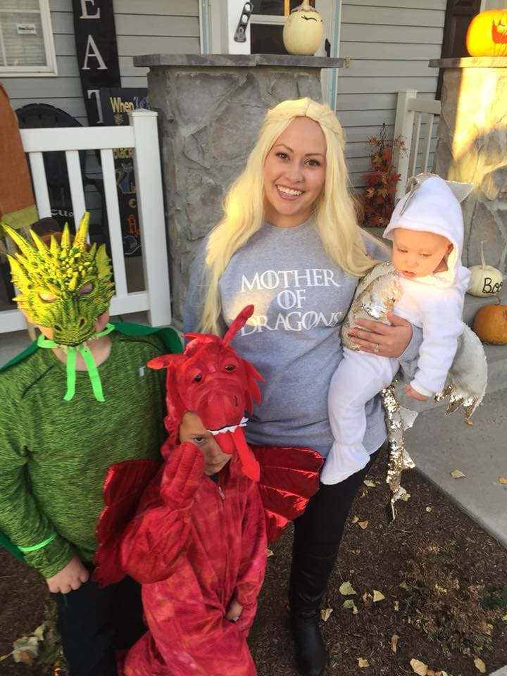 DIY Game of Thrones family Halloween costumes