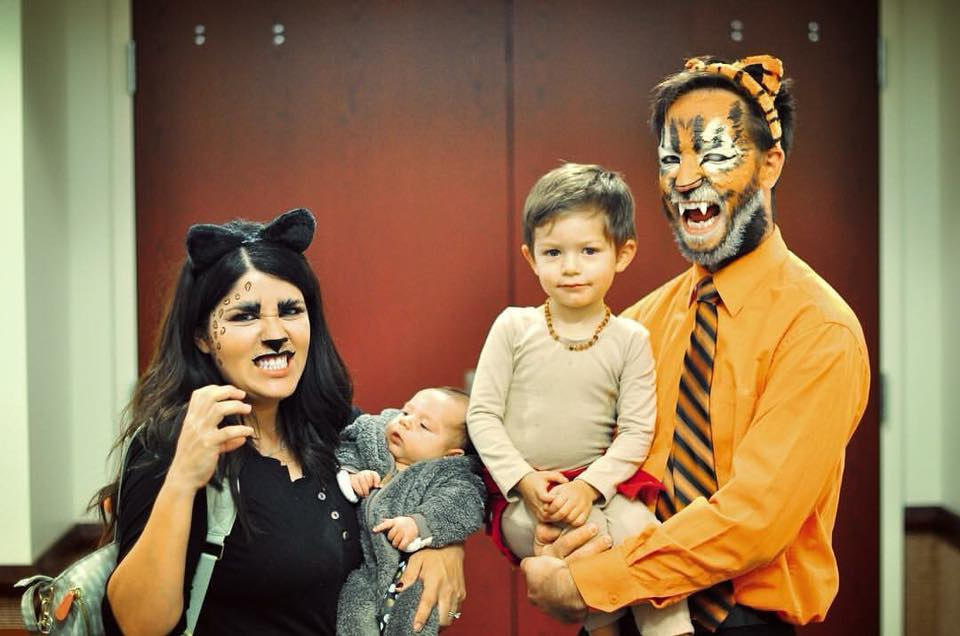 DIY Jungle Book family Halloween costumes