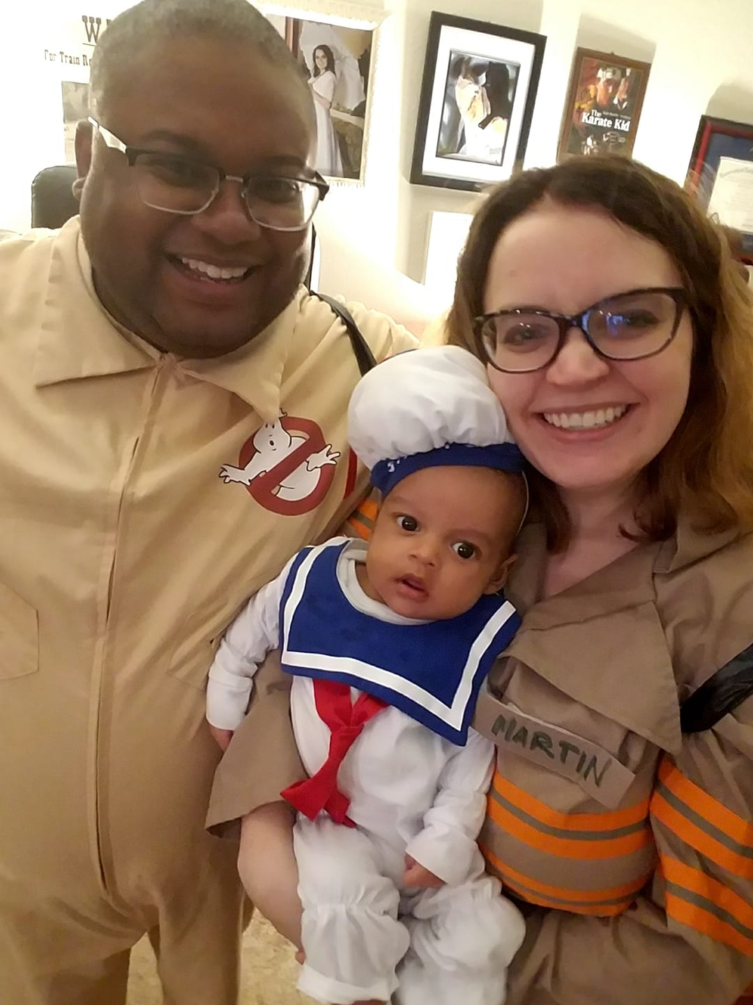 Ghostbuster DIY family Halloween costumes