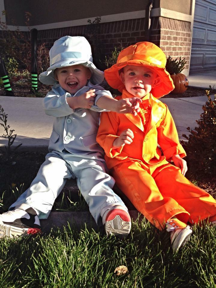 Dumb and Dumber kids Halloween costumes