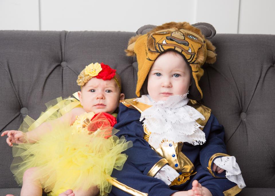 Beauty and the Beast kids Halloween costumes