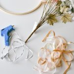 Modern fall wreath supplies for a craft thatt's easy and affordable and takes about 20 minutes!