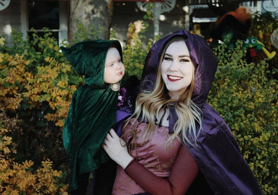 Hocus Pocus mommy and me Halloween costume