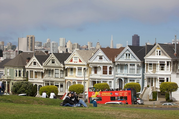 Painted Ladies on San Francisco tour.