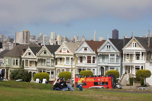 Painted Ladies on San Francisco tour.