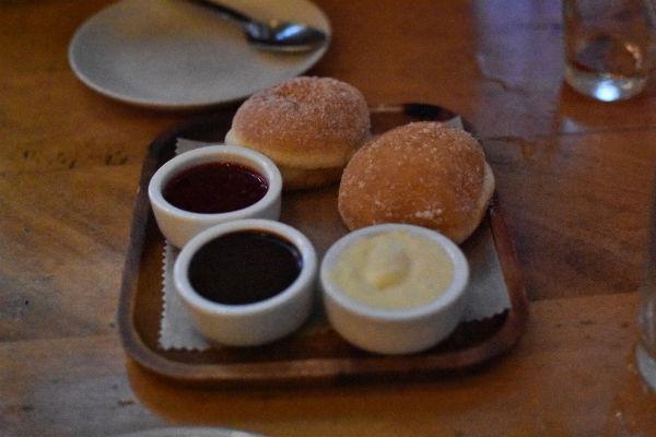 Delicious beignets at Delarosa in San Francisco!