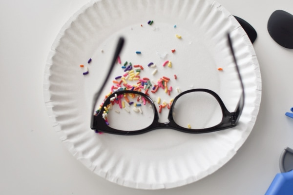 Sprinkles and glasses for sprinkles Halloween outfit