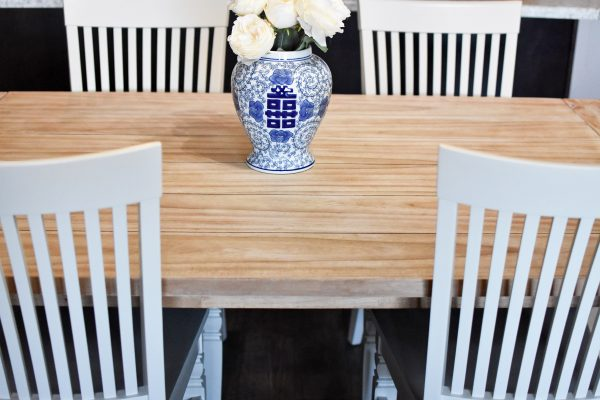 Kitchen table makeover final product