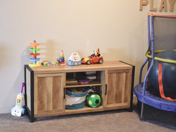 Playroom that needs new decor from Tuesday Morning
