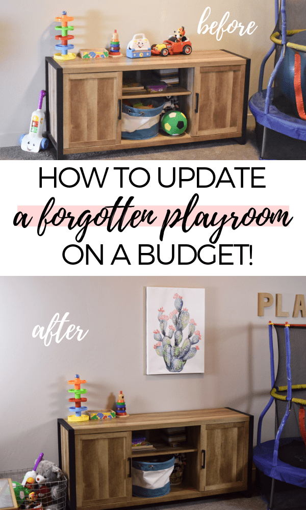 Inexpensive playroom ideas