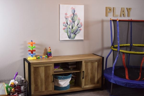 Modern playroom decor from Tuesday Morning