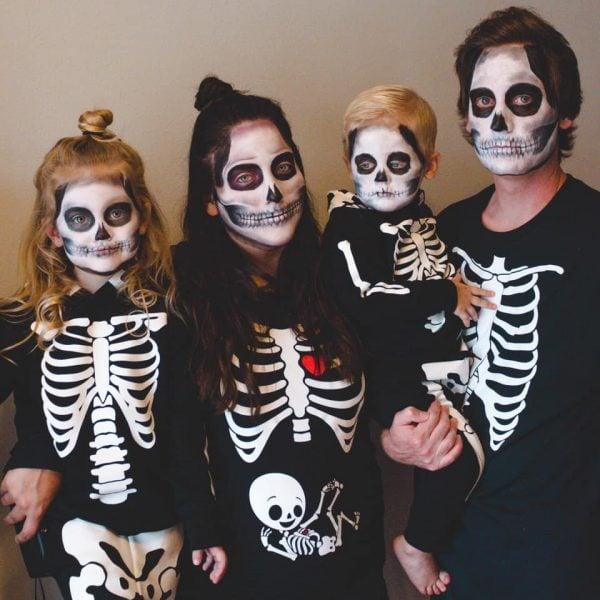 Halloween baby announcement idea