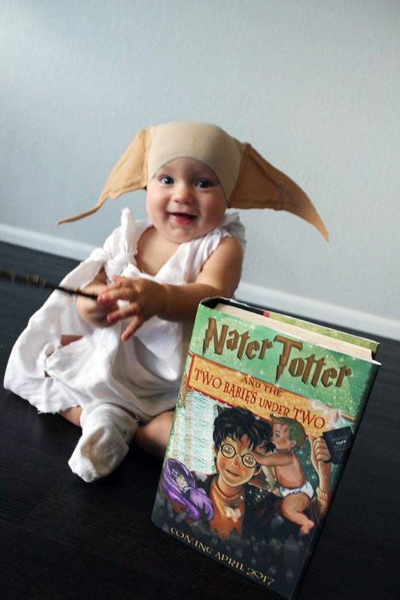 Harry Potter baby announcement idea