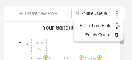 How to update Tailwind schedule