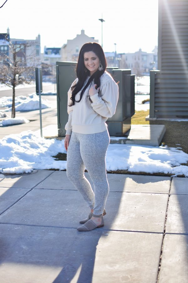 Woman shows how to wear athleisure with Gordmans