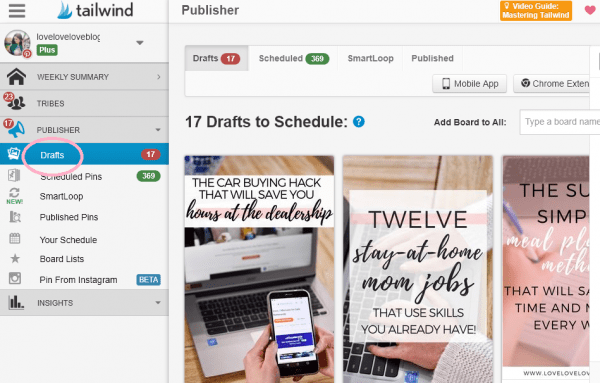 How to download the Tailwind Chrome extension