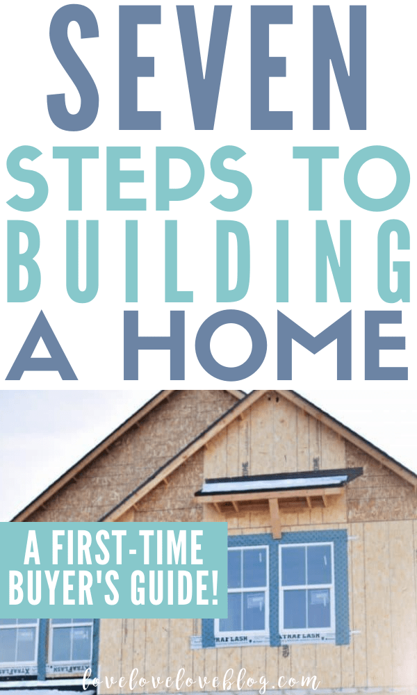 Here are lots of tips and ideas for how to start building a house on a budget!