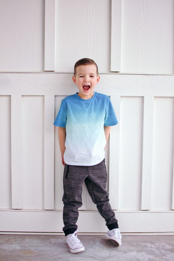 Little boy wears the cutest clothes from Stitch Fix.