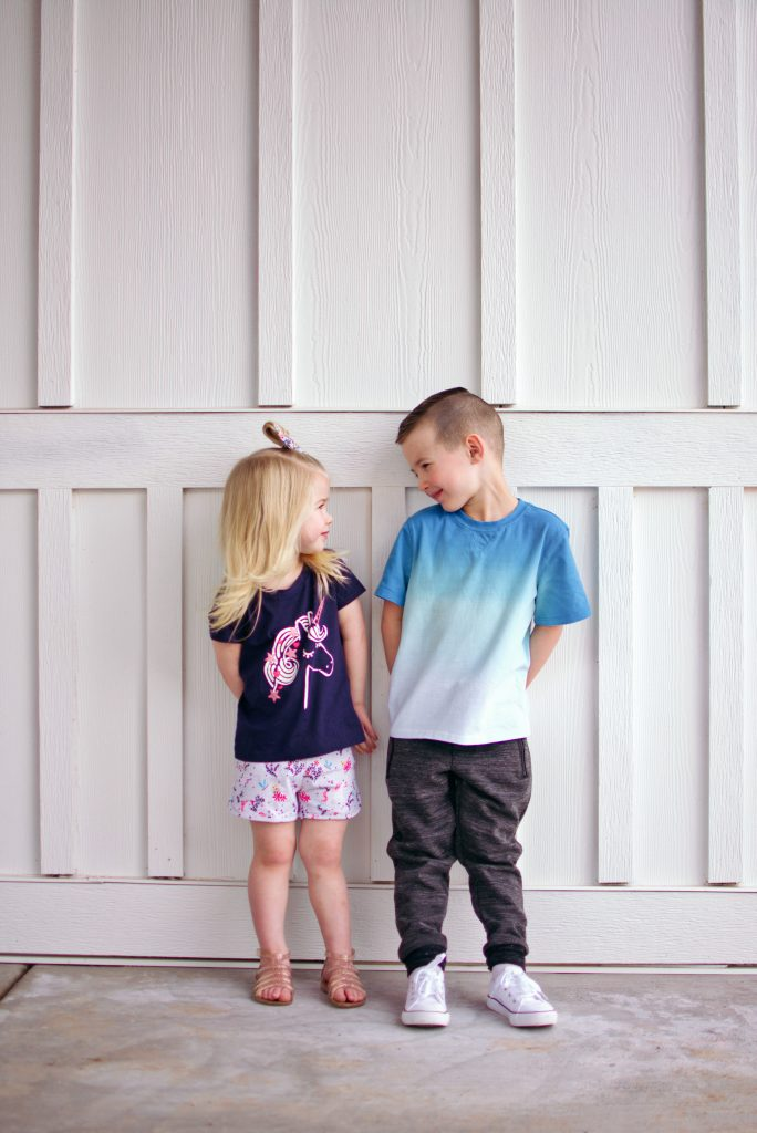 Brother and sister look so cute in their kid clothes from Stitch Fix!