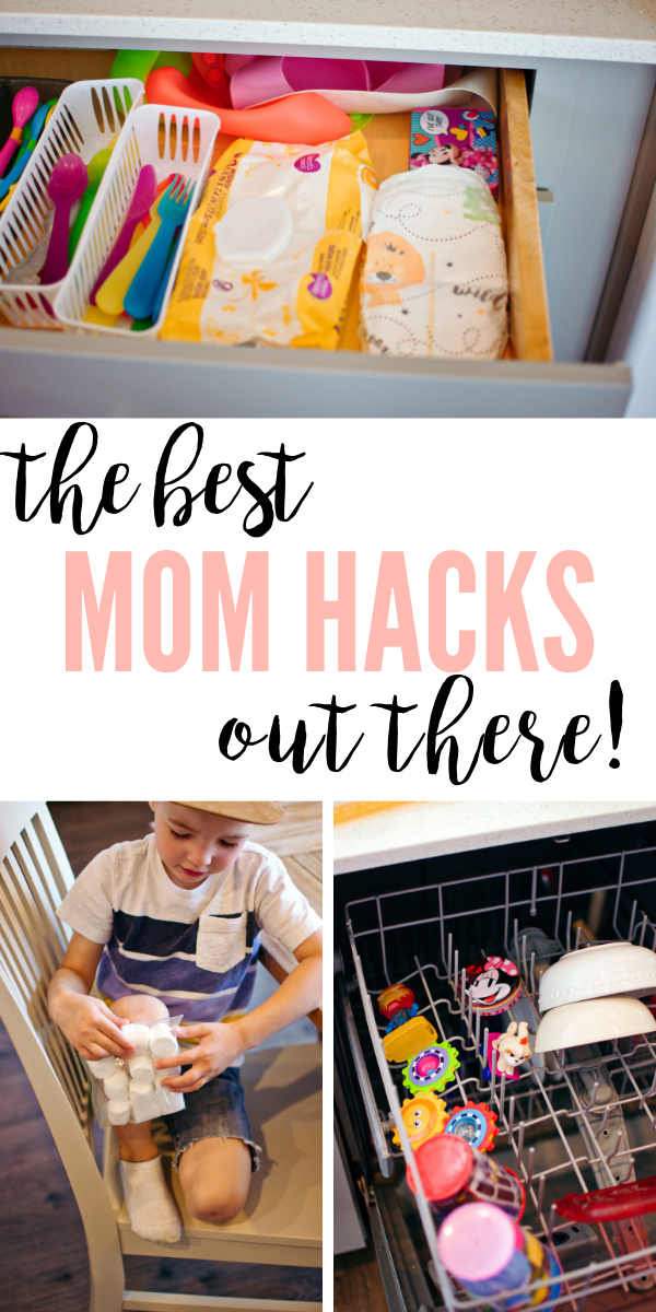 These every day mom hacks are perfect for your newborn baby and toddlers!
