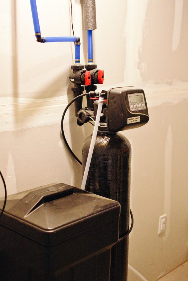 A water softener should be on every new homeowner checklist