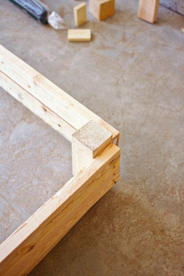 Structure for DIY backyard entertainment area