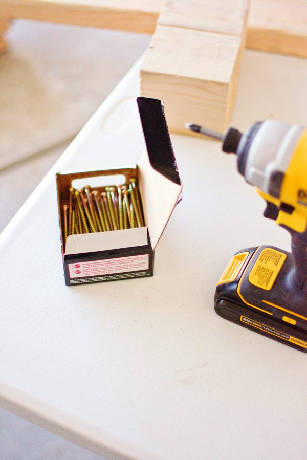 The tools needed to build a DIY outdoor fire area
