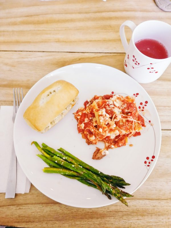 Lasagna is one of the dinner ideas for tonight in my eBook.