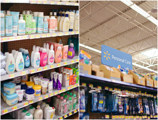 Johnsons hair care kids shampoo and conditioner at Walmart.