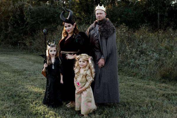 Maleficent family costume idea
