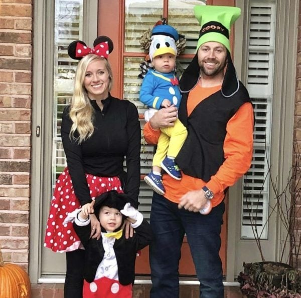 Disney family outfit ensemble for Halloween
