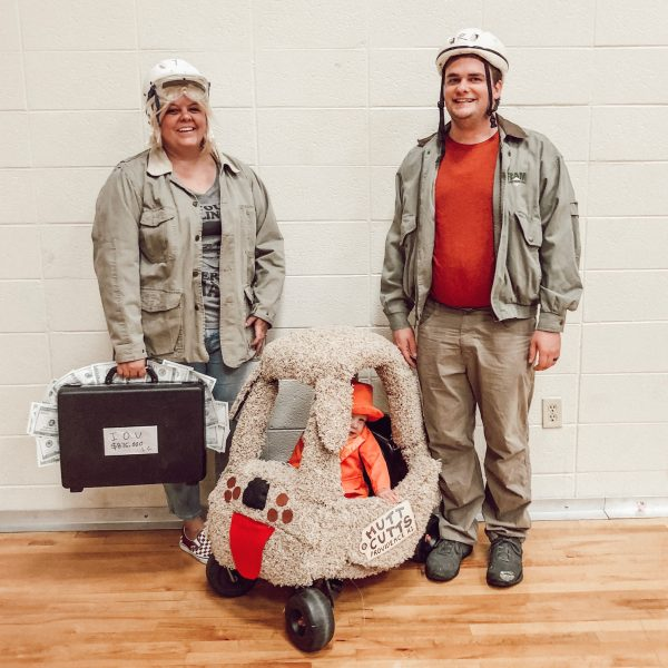 Dumb and Dumber family Halloween costume
